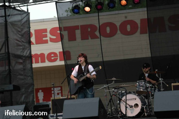Ryan Cassata on Rainbow Stage at PrideFest Milwaukee