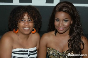 blogger Ifelicious and Nyasha Zimucha from Logo's The A-List: NY