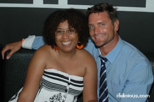blogger Ifelicious and Reichen Lehmkuhl from Logo's A-List: NY