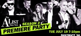 Logo TV's A-List New York season 2 launch party: exclusive cast interviews, photos, commentary