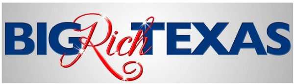 Big Rich Texas text logo