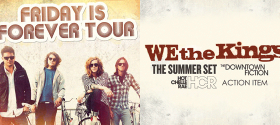 Friday is Forever Tour 2011- Hot Chelle Rae