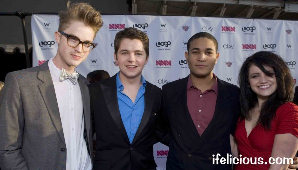 red carpet The Glee Project Season 1 NewNowNext Awards 2012