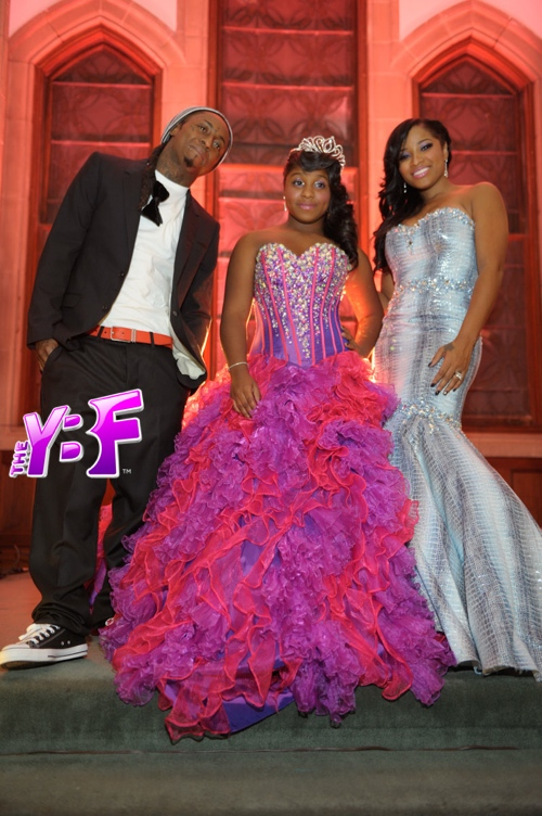 Reginae Carter 13th birthday Lil Wayne Toya Wright
