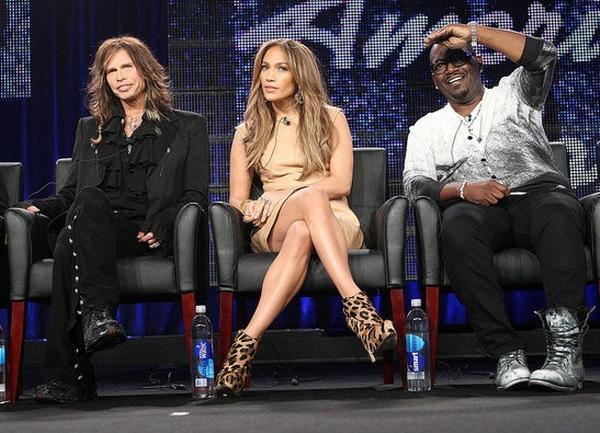 Steven Tyler Jennifer Lopez Randy Jackson American Idol