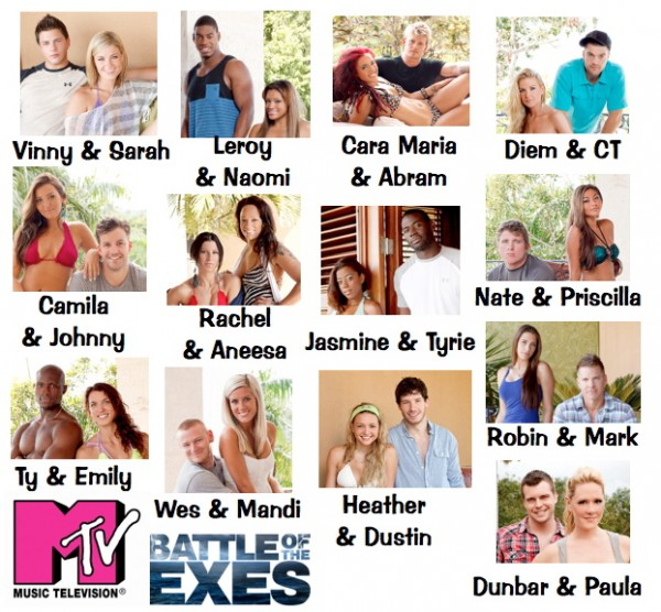 MTV Challenge Battle of the Exes