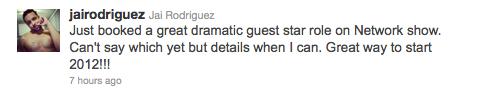 Jai Rodriguez Twitter