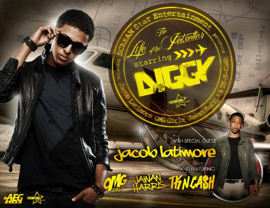 Diggy Simmons Life of the Jetsetter Tour 2012