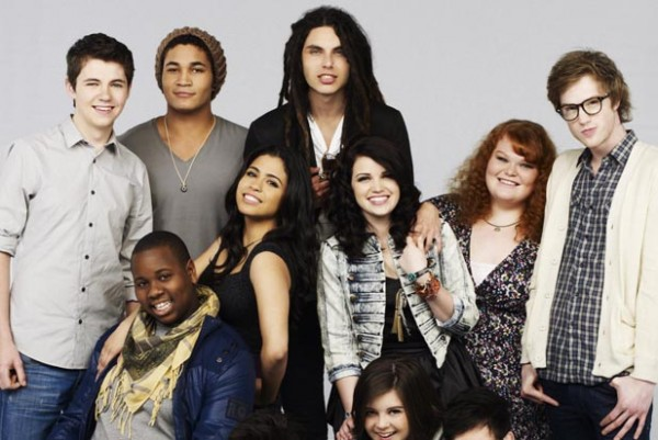 The Glee Project Cast Season 1 Oxygen