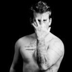 Abram Boise MTV shirtless black and white
