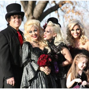 Bon Blossman husband Jason corpse bride wedding Big Rich Texas
