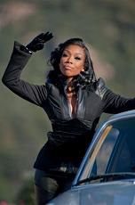 Brandy It All Belongs to Me video shoot