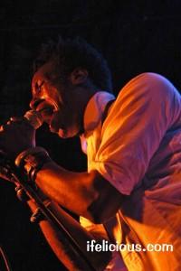 Saul Williams Bottom Lounge Chicago Volcanic Sunlight Tour