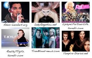 Logo NewNowNext Awards 2012 Superfan Site Award nominees