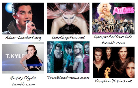 Logo NewNowNext Awards 2012 Superfan Site Award nominees