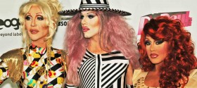 RuPaul's Drag Race Season 4 Reunion press event and party at XL in NYC: photos, video, commentary