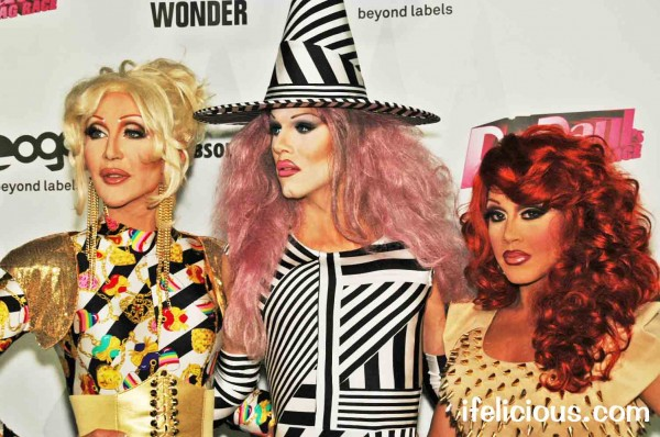 RuPaul's Drag Race Reunited Chad Michaels Sharon Needles Phi Phi O'hara Logo TV