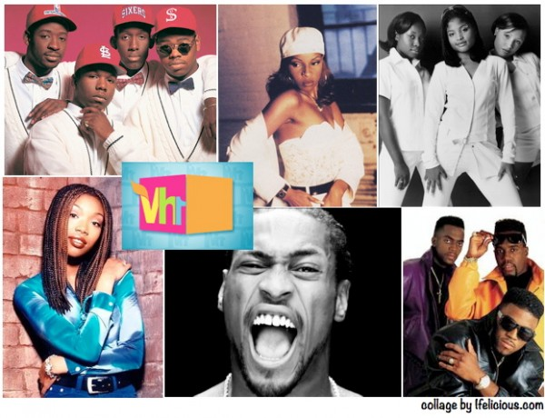 1990s R&B collage VH1 music