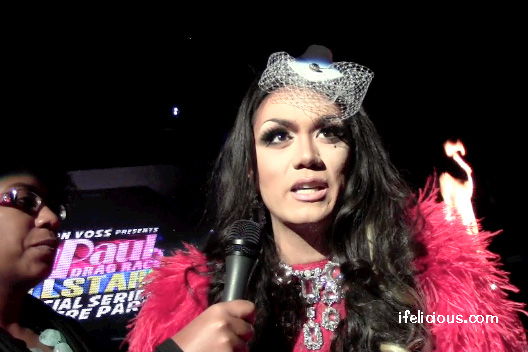 Manila Luzon fire RuPaul's All Stars Drag Race XL Nightclub