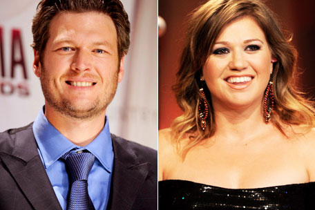 Blake Shelton Kelly Clarkson