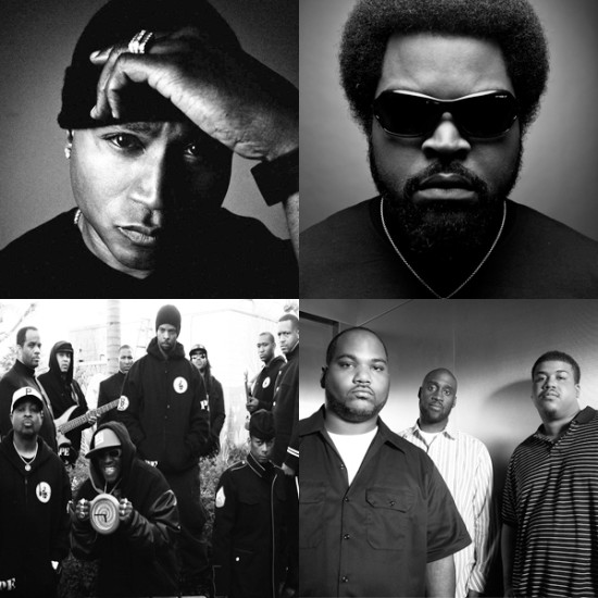 LL Cool J Ice Cube Public Enemy De La Soul tour