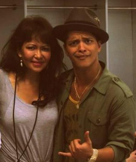Bruno Mars Bernadette Hernandez