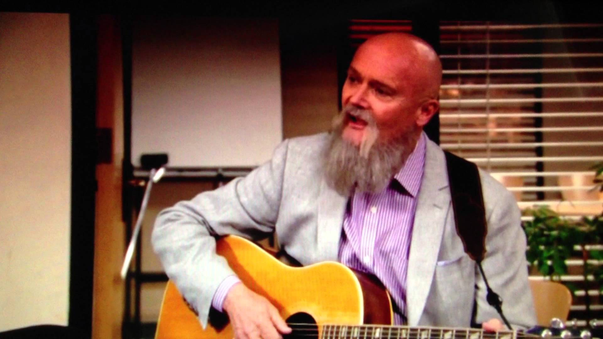 39 the office 39 enlists own cast member creed bratton for series finale song download now - The office season 9 finale ...