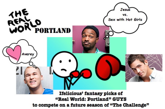 Real Worl Portland MTV Challenge Johnny Reilly Marlon Williams Jordan Wiseley