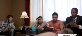 MTV celebs join Channing Tatum and Jamie Foxx for 'White House Down: MTV Safe House' promo parody