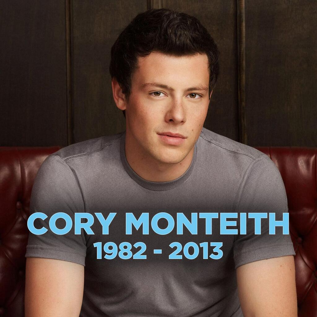 Glee and Gleeks melancholy over Cory Monteiths, aka Finn Hudsons, untimely death | Ifelicious®