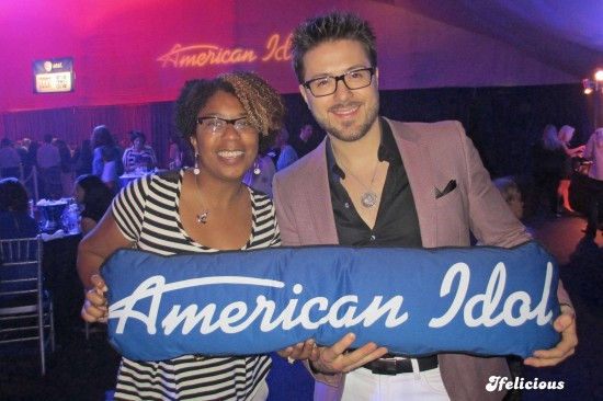 Danny Gokey Ifelicious American Idol celebrity blogger finale after party