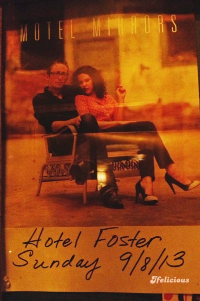 Amy LaVere John Paul Keith Motel Mirrow Hotel Foster Milwaukee concert