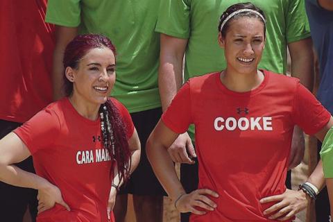Cara Maria Sorbello Heather Cooke MTV The Challenge Rivals 2