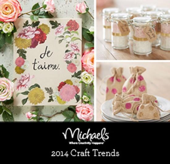 Michaels Craft Trends 2014 DIY
