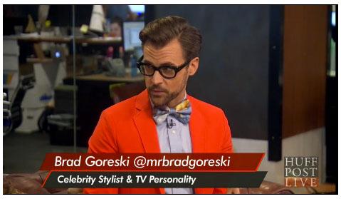 Brad Goreski celebrity stylist HuffPost Live