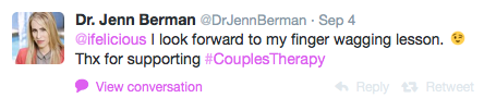 Dr Jenn Berman Couples Therapy Twitter