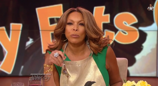 Wendy Williams eat crow gumbo