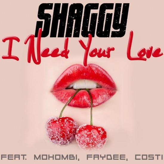 Shaggy I Need Your Love Mohombi Faydee Costi