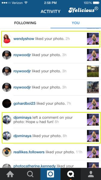 Ifelicious Instagram WendyWilliamsTour